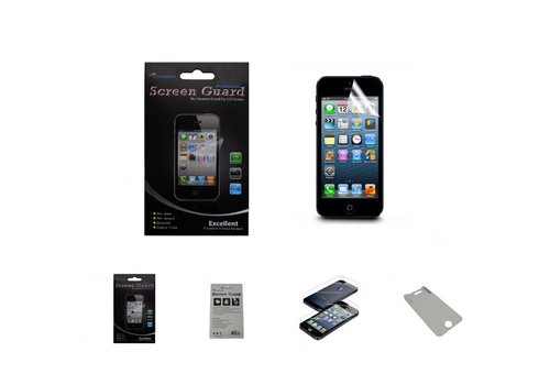 Screenprotector Anti-Spy iPhone 6/6S Plus Transparant