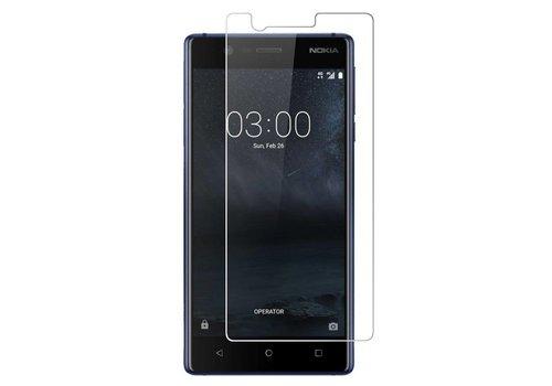 Nokia 3 Screenprotector Glas 9H