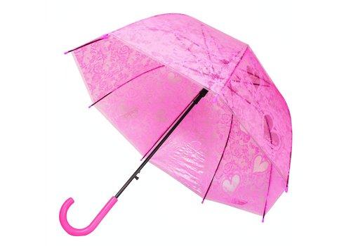 Umbrella Heart Flower Dark Pink