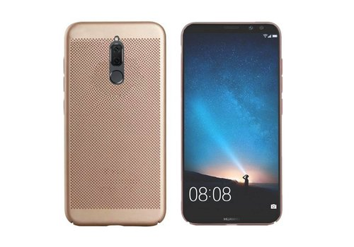 Case Mesh Holes  Mate 10 Lite Gold