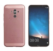Colorfone Huawei Mate 10 Pro Hoesje Ros' Goud - Mesh Holes
