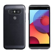 Colorfone LG Q8 Case Black - Mesh Holes