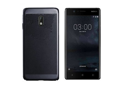 Case Mesh Holes Nokia 3 Black