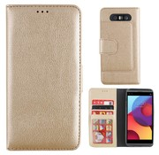 Colorfone LG Q8 Case Gold - Wallet