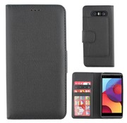 Colorfone LG Q8 Case Black - Wallet