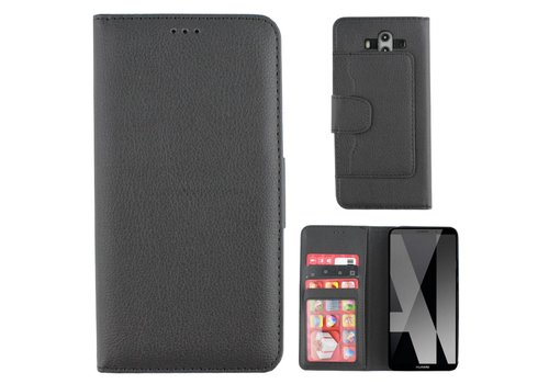Wallet Case PU Mate 10 Pro Black