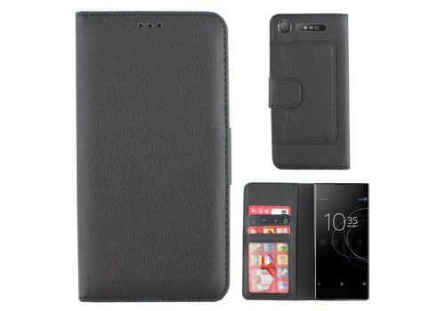 Wallet Case PU Sony XZ 1 Black