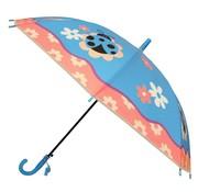 J.S Ondo Kinder Paraplu Ø78cm Blauw Paars Roze Wit