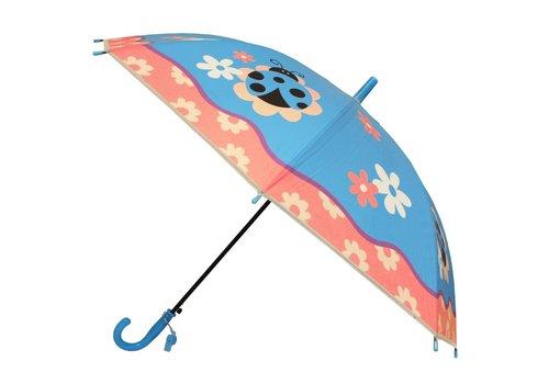 Kids umbrella Ladybugs Blue Purple Pink White