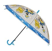 J.S Ondo Kinder Paraplu Ø78cm Blauw Geel