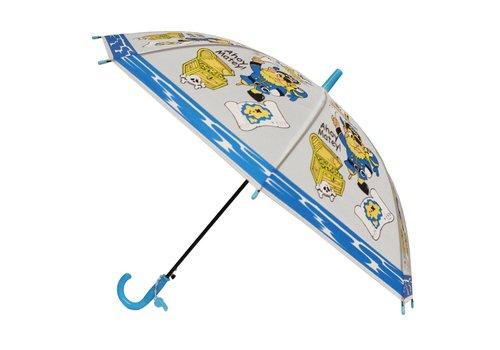 Kids umbrella Captain Blue Yellow