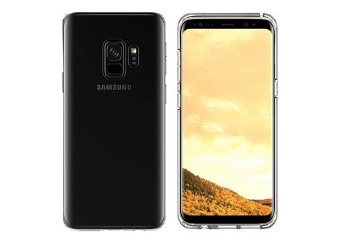 Samsung S9 Plus Hoesje Transparant CoolSkin3T
