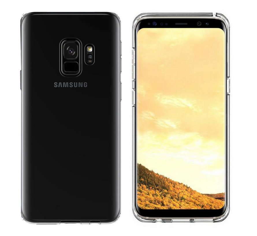 Samsung S9 Siliconen Hoesje Transparant - CoolSkin3T
