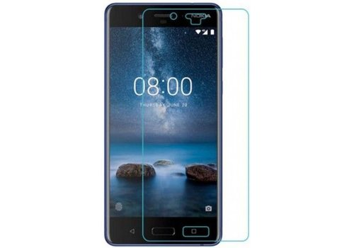 Nokia 8 Screenprotector Tempered Glass 9H