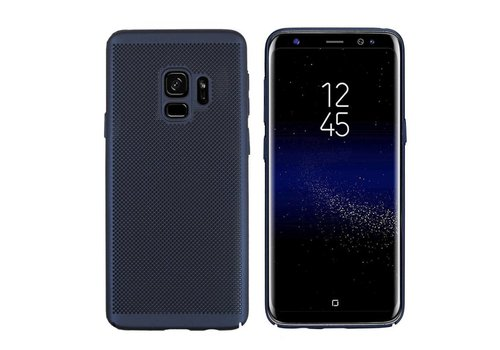 Case Mesh Holes Samsung S9 Plus Blue