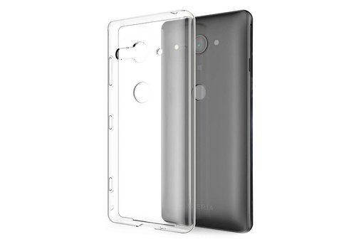 Sony Xperia XZ 2 Compact Hoesje Transparant CoolSkin3T