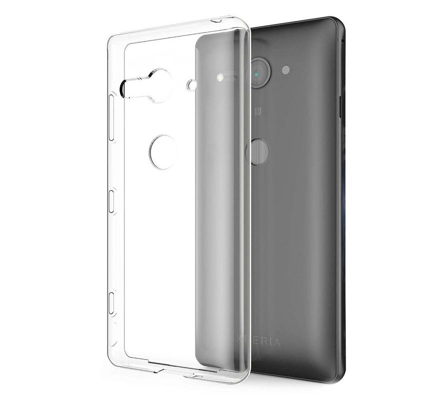 Sony Xperia XZ 2 Compact Hoesje Transparant - CoolSkin3T