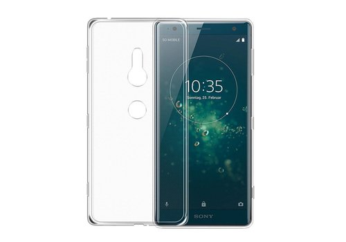 CoolSkin3T Sony Xperia XZ 2 Transparent White