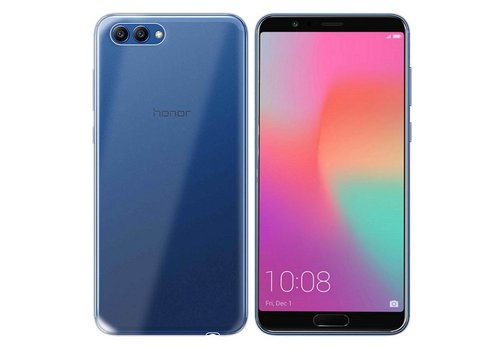 CoolSkin3T Huawei Honor View 10 Transparant Wit