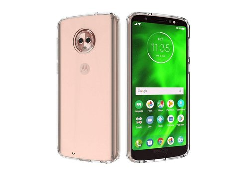 CoolSkin3T Motorola Moto G6 Transparent White