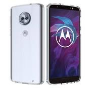 Colorfone Motorola Moto G6 Plus Hoesje Transparant CoolSkin3T