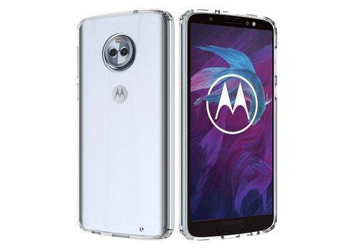Motorola Moto G6 Plus Hoesje Transparant CoolSkin3T