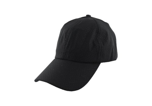Cap Mesh Holes Black