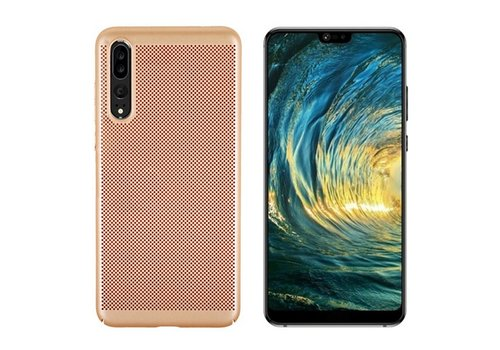 Hoes Mesh Holes Huawei P20 Pro Goud