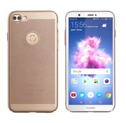 Colorfone Huawei P Smart Hoesje Goud - Mesh Holes