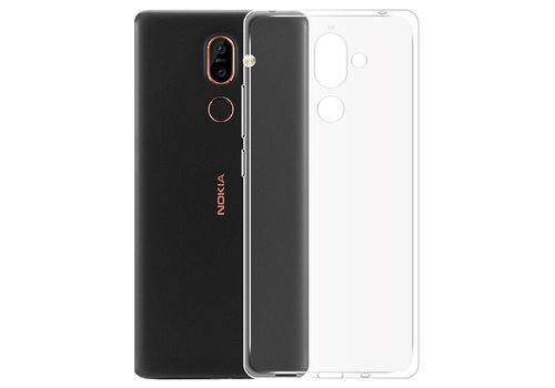 CoolSkin3T Nokia 7 Plus Transparant Wit