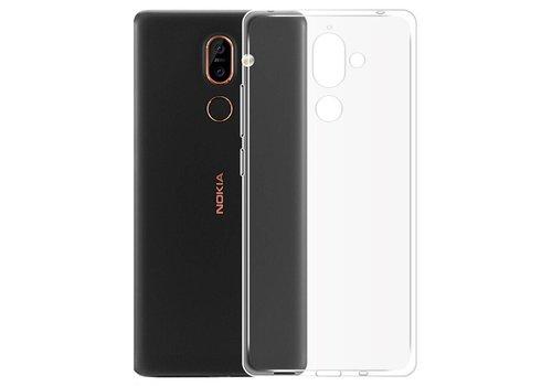 Nokia 7 Plus  Hoesje Transparant CoolSkin3T