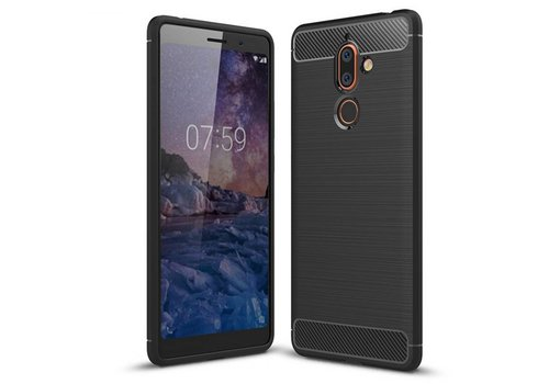 Hoes Armour 1 Nokia 7 Plus Zwart