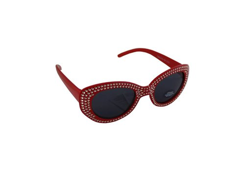 Sunglasses Child Oval Red