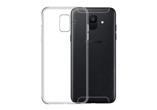Samsung A6  Hoesje Transparant CoolSkin3T