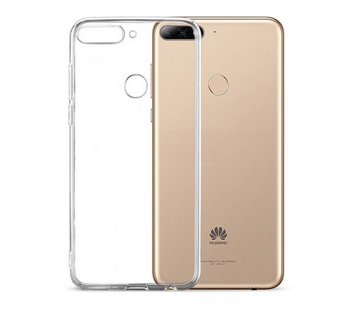 Colorfone Huawei Y6 2018 - Y6 Prime 2018 Hoesje Transparant CoolSkin3T