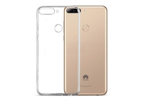 CoolSkin3T Huawei Y6 2018 / Y6 Prime 2018  in Transparant Wit