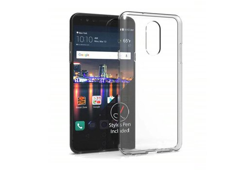 LG Q7  Hoesje Transparant CoolSkin3T