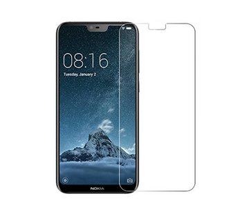 Colorfone Nokia X6 Screenprotector Glas 9H