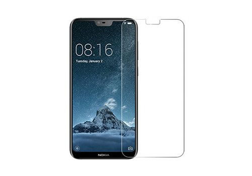 Nokia X6 Screenprotector Glas 9H