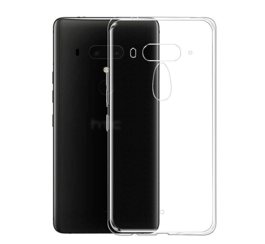 HTC U12+ Siliconen Hoesje Transparant - CoolSkin3T