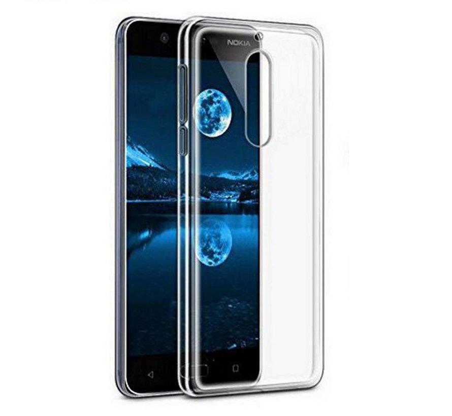 Nokia 2.1 Siliconen Hoesje Transparant - CoolSkin3T
