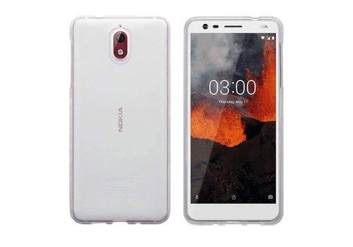 CoolSkin3T Nokia 3.1 Transparant Wit