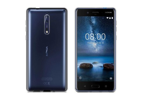 CoolSkin3T Nokia 5.1 Transparant Wit