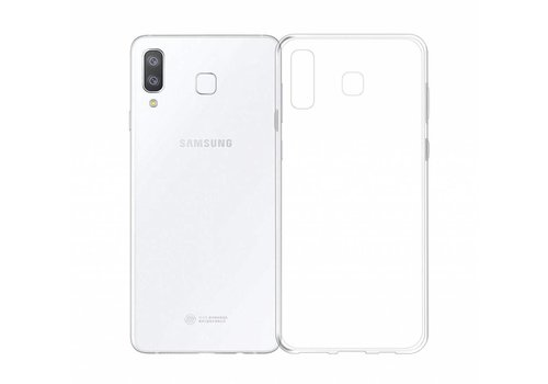 Samsung A8 Star  Hoesje Transparant CoolSkin3T