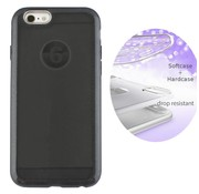 Colorfone BackCover Layer Apple iPhone 8 - 7 Zwart