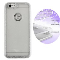 BackCover Layer TPU + PC Apple iPhone 8 - 7 Zilver