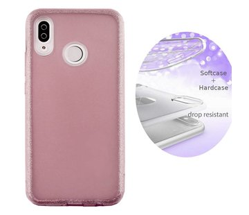 Colorfone BackCover Layer Huawei P20 Lite Roze