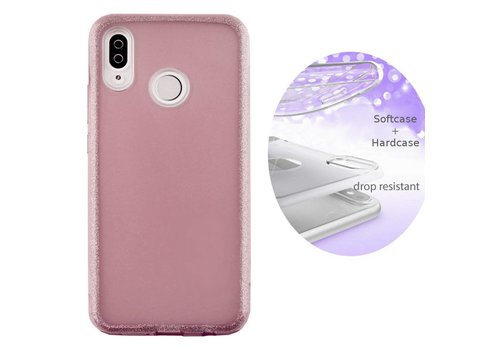 BackCover Layer Huawei P20 Lite Roze