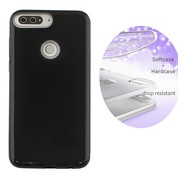 Colorfone BackCover Layer Huawei Y7 2018 Zwart