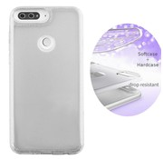 Colorfone BackCover Layer Huawei Y7 2018 Zilver